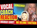 🦋 Mariah Carey Reaction | We Belong Together on Oprah LIVE - Vocal Coach Reaction