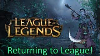 Snake Returns to League! (League of Legends Stream)