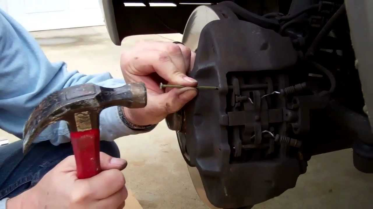 Mercedes W124 Front Brake Pad Replacement  YouTube