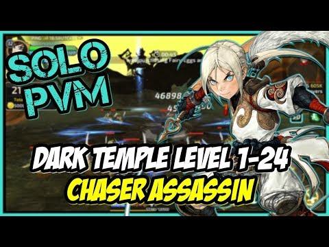 TEMPLE RUN | Dragon Nest M: SEA PH1 Server | Dark Temple Run Level 1-24 | Chaser Assassin