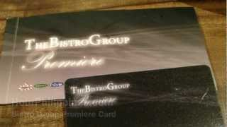 Bistro Group Premiere Card by HourPhilippines.com