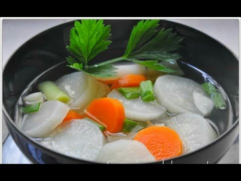 Resepi Sup Lobak Putih Mudah Dan Sedap Nanieybarnieylurviey