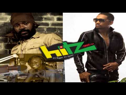 Busy Signal Interview with Jenny Jenny (Lutan Fyah in Studio) - Hitz92fm