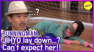 [HOT CLIPS] [RUNNINGMAN] (Part.1) What's JIHYO doing..? (ENG SUB)