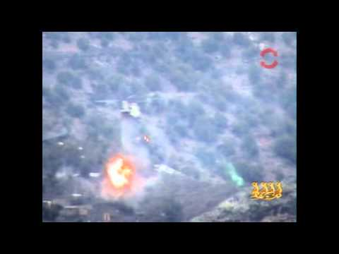 Chinook Shot Down by Taliban in Kunar Province