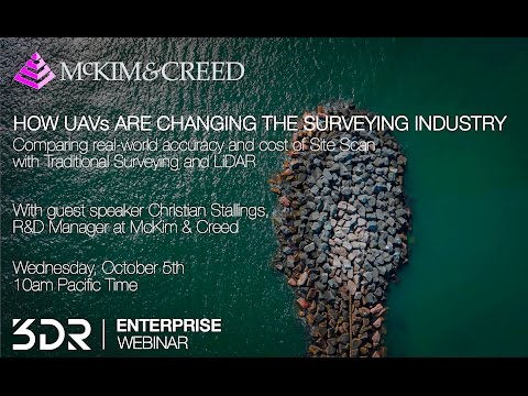 3DR Webinar: How UAVs are Changing the Surveying Industry