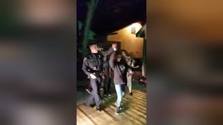 Police Officer Responds To Noise Complaint by Salsa Dancing With Kids thumbnail