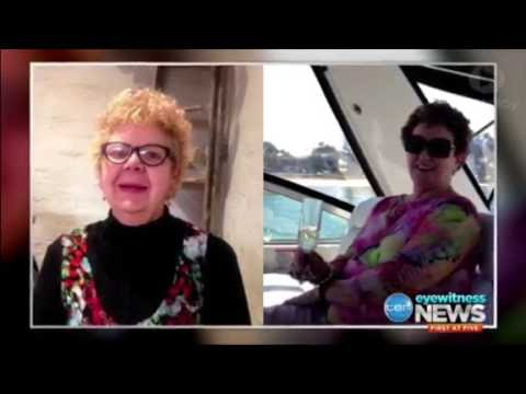 Emotional tribute to women killed in level crossing accident [TEN Eyewitness News • Sept 15th 2016]