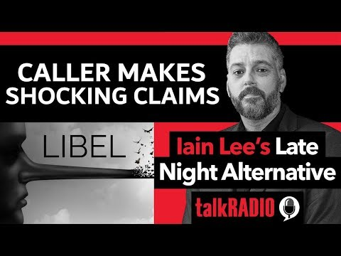 Caller Makes Shocking Claim About Iain Lee On His Show!