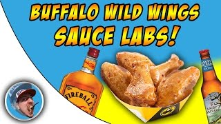 Buffalo Wild Wings Sauce Labs! - Fiery Apple!