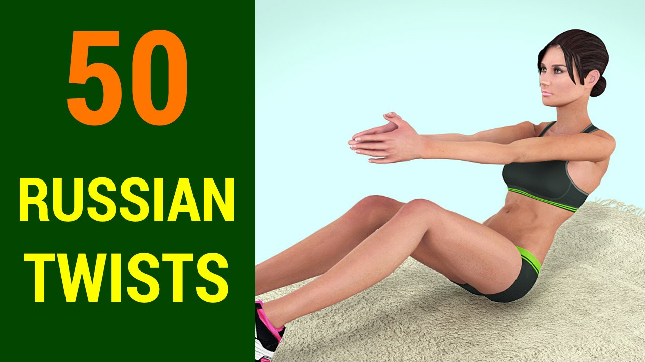 50 Russian Twists Challenge Abs Obliques Six Pack At Home