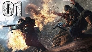 Lets Play ENEMY FRONT #01 Deutsch PS3 Gameplay