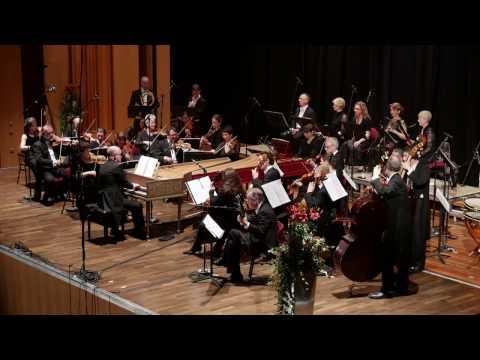 Handel Water Music: Air; FestspielOrchester Göttingen, Laurence Cummings, director 4K