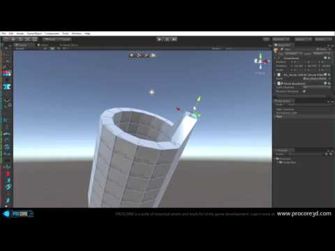 ProBuilder for Unity - Creating and Editing Geometry (v2.5)