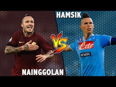 Nainggolan vs Hamsik ● 2016-2017 HD