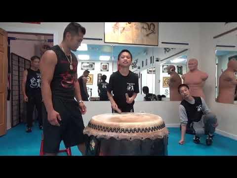 Crouching Tiger Hidden Dragon Chinese Lion Drum Challenge