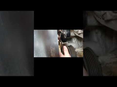 2011 dodge ram serpentine belt change (easy)