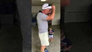 Dad Surprised with Corvette for Father's Day