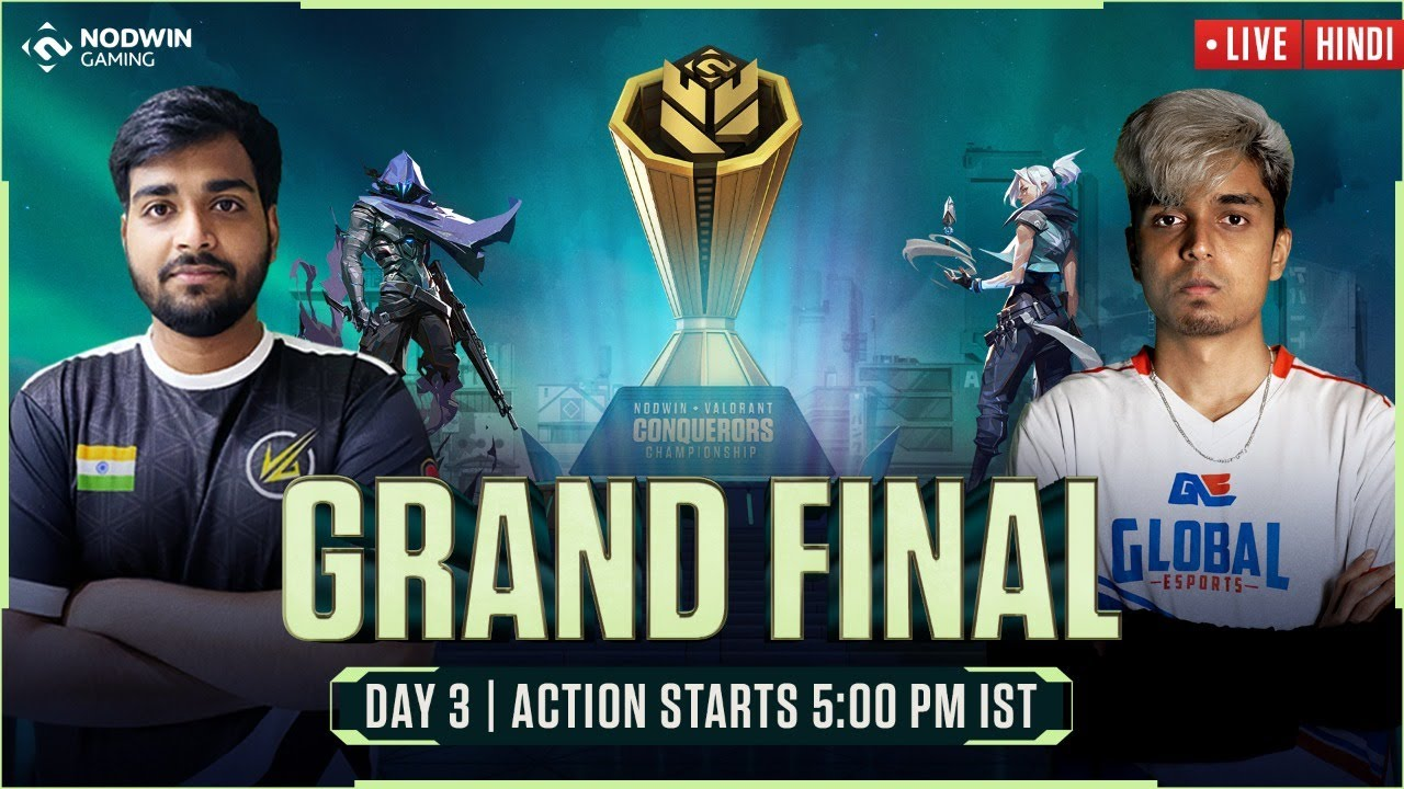 [HINDI] Valorant Conquerors Championship   Grand Finale – GE VS VLT