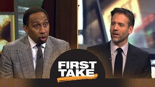 Stephen A. and Max each pick one word to describe Damian Lillard | First Take | ESPN