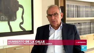 Entrevista: Humberto De la Calle, ex candidato a la Presidencia de Colombia
