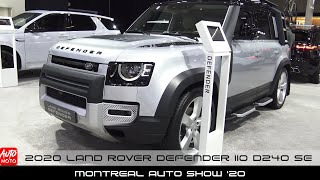 2020 Land Rover Defender 110 D240 SE - Exterior And Interior - Montreal Auto Show 2020