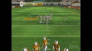 NCAA Football 08  PlayStation 2 Gameplay - FSU Vs.