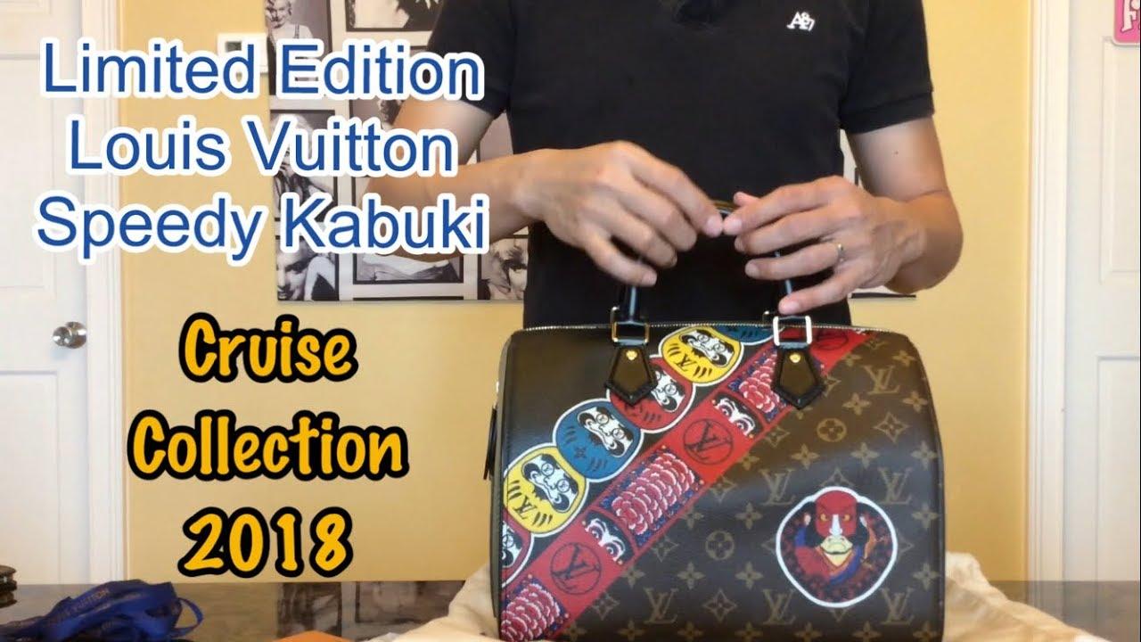 91433565a2e2e New Release! Louis Vuitton Speedy Kabuki Cruise Collection 2018 ...