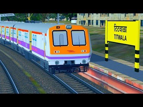 Heavy Traffic of Mumbai Local Trains | Indian train simulator | Sumit Mehrotra
