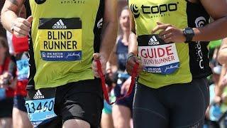 Blind Runner Set to Run Boston Marathon Twice (52.4)