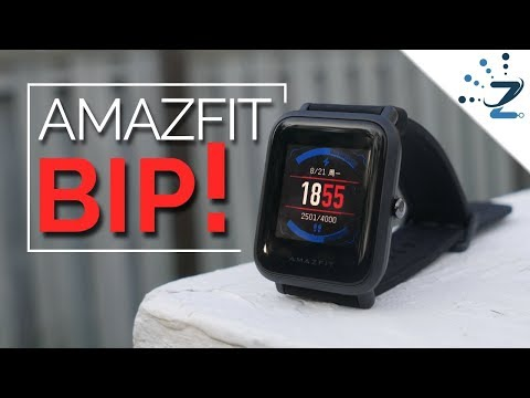 Xiaomi Amazfit Bip Review (English) - How to Update Smartwatch from Chinese to English!