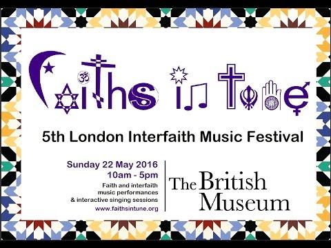 Faiths In Tune 2016 - 5th London Interfaith Music Festival