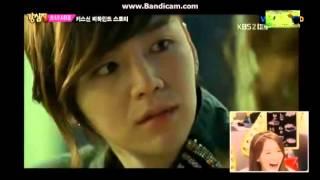 Strong Heart - SNSD reactions to Yoona's Kiss Scene in Love Rain
