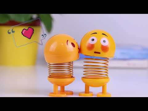 Emoji Spring Doll, Emoji Toy