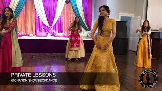 Bridal Wedding Performance with Bridesmaids | Punjabi Wedding Performance |