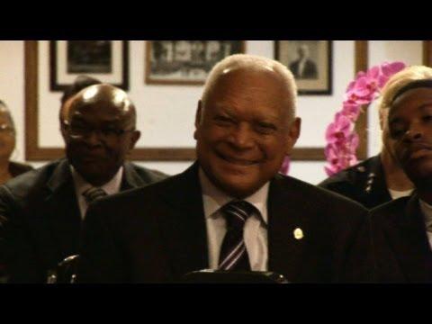 Commissioner John W. Mack Honored 9/24/2013