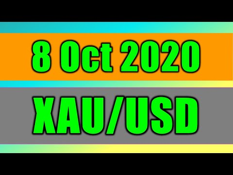XAU/USD Daily Forecast Analysis on 8 October 2020 by Trading Gold Today Review