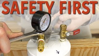 DIY Pressure Chamber & Safety Considerations