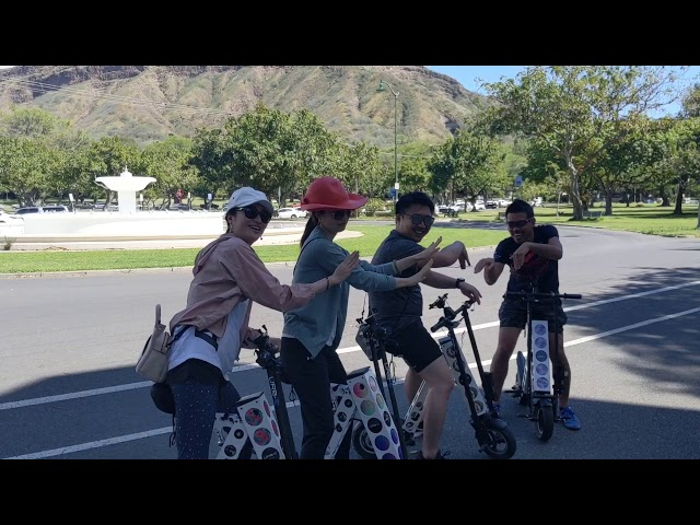 URB-E Hawaii Waikiki Ride 2/20/2020