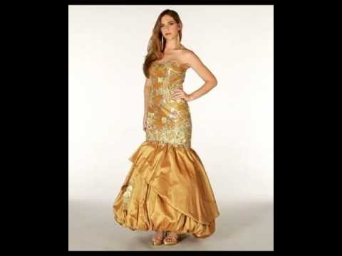 Golden Couture Dress | Formal Dress Shops Online