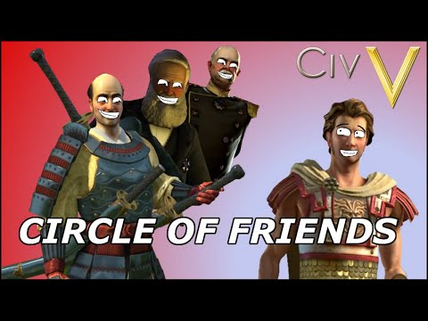 Civilization V: Circle of Friends Part 2 - Hunting with Hunter