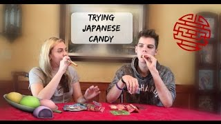 Trying Japanese Candy w/ My Bro | Nikki Stixx