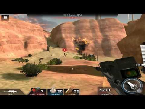 Kill Shot Bravo Region 20 Primary Mission 2 - Kill 4 Enemies