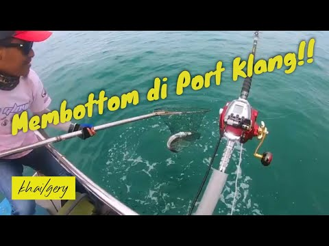 Electric Reel Fishing I Trip Memancing Di Port Klang Zee Zone