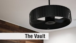 The Vault ceiling fan from Hunter