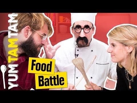 FOOD BATTLE #8 // Nacho-Challenge // #yumtamtam