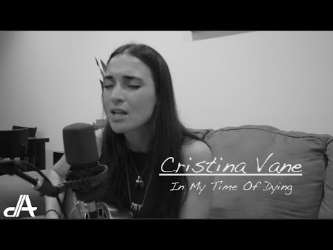 In my time of dying blind willie johnson cristina vane