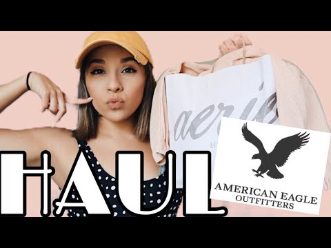 AMERICAN EAGLE + AERIE TRY ON HAUL + MORE 2018 | Janine Rayas