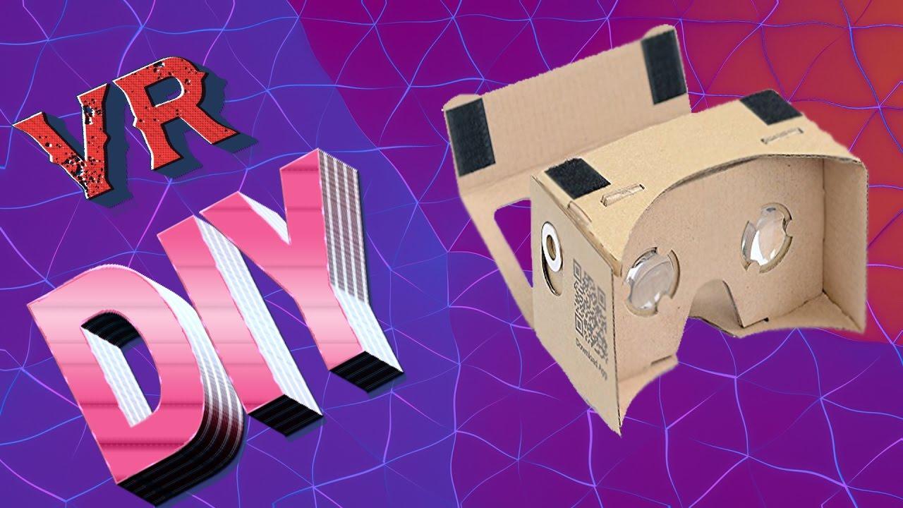 Cardboard Vr Brille Basteln : Vr brille selber bauen youtube