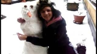 Mi muñequito de nieve